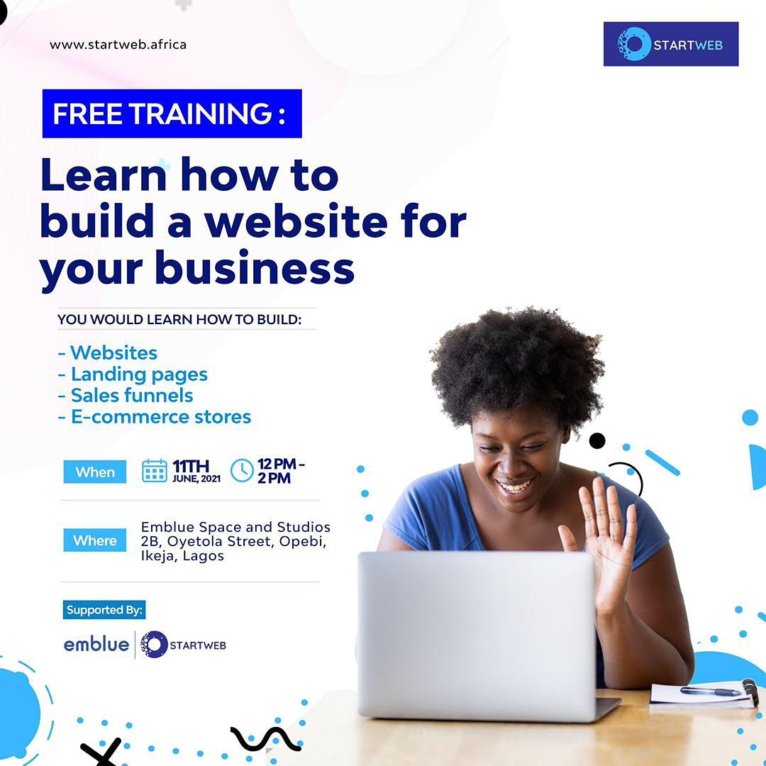 Learn how to build a website for your business with Startweb